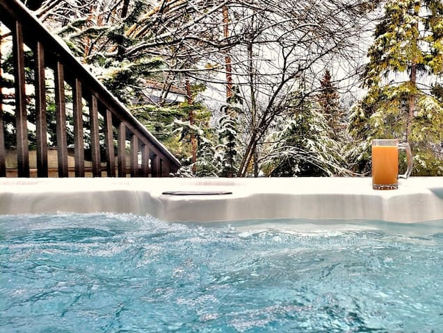 Get Away and enjoy your own Private Hot Tub!