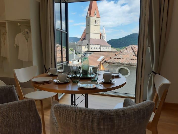 Neues Apartment in Weißenkirchen mit Traumaussicht