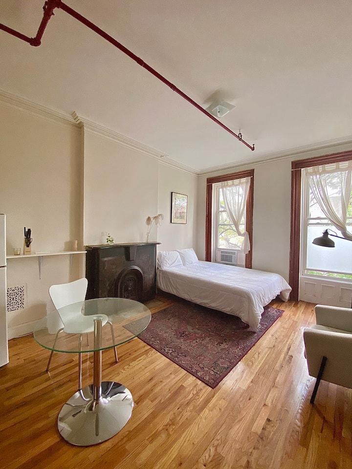 Fully Furnished Studio / Kitchenette & Shared Bath