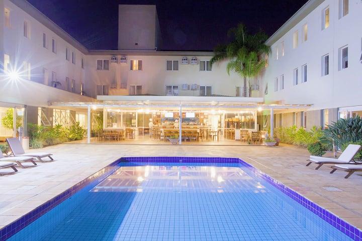 Apartamento Alphaville - Comfort Suites Campinas