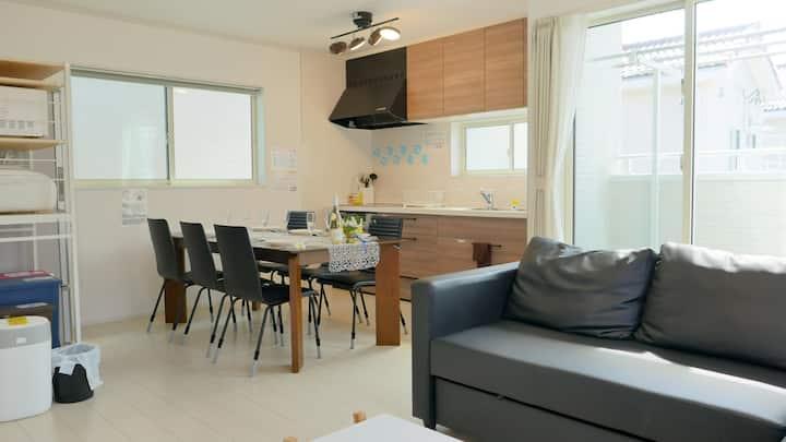 GR3B New 2storeyVilla/Chic interior/close to beach