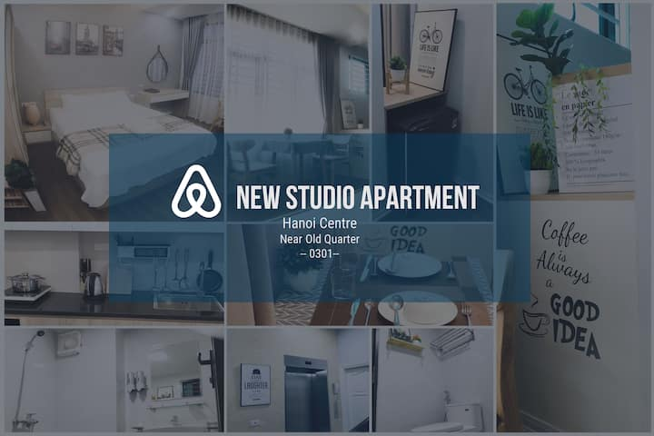 New Studio Apt, Hoan Kiem, near old quarter #0301#