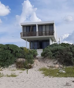 Unique Minimalist Beach front house