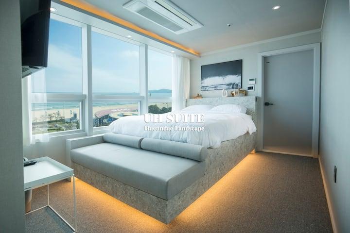 [UH Suite Studio]#Ocean View#1 Sec  Haeundae#408