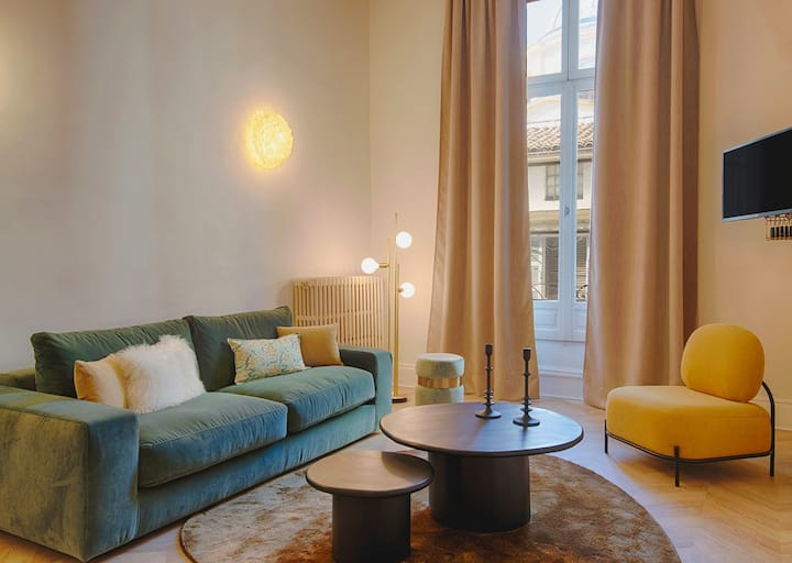 Romantic Flat in the heart of the city