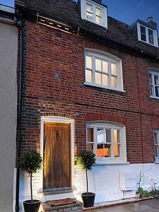 The Cottage is situated on a wide walkway, with plenty of streetlighting at night, and we have also installed lighting around the cottage entrance for ease of access of an evening, which are on a timer and come on automatically.