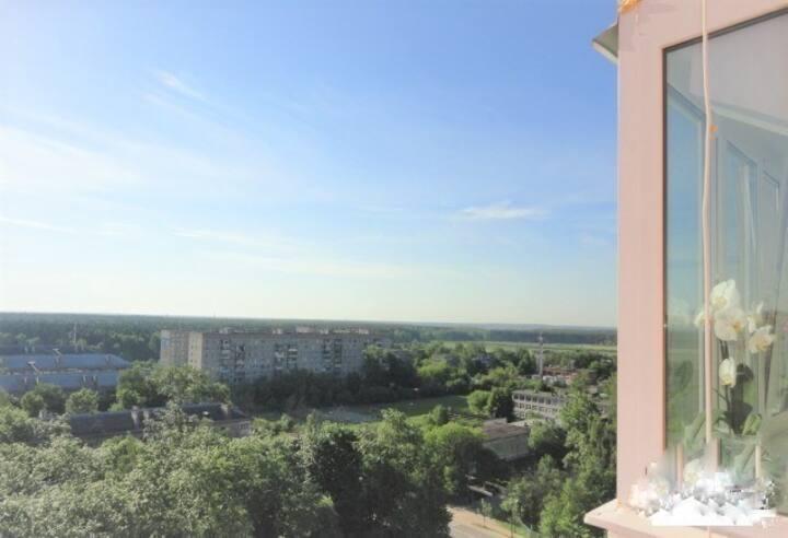 Квартира у ж/д вокзала Подольск, ул. Циолковского