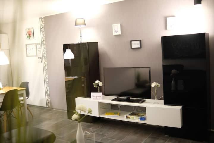 🛏 Moderne Arbeiter Studenten Wohnung auf 2 Etagen