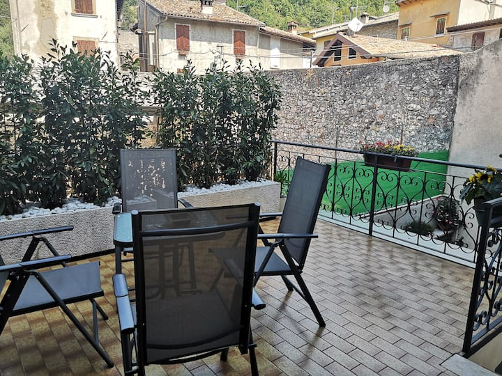 Casa Caterina, 2 storey house with a mountain view