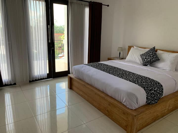 K#3 Stylish 1BR with Balcony View in Canggu