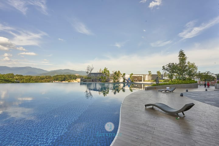 Peaceful Private Condo +Couple/Family Getaway 中文房东