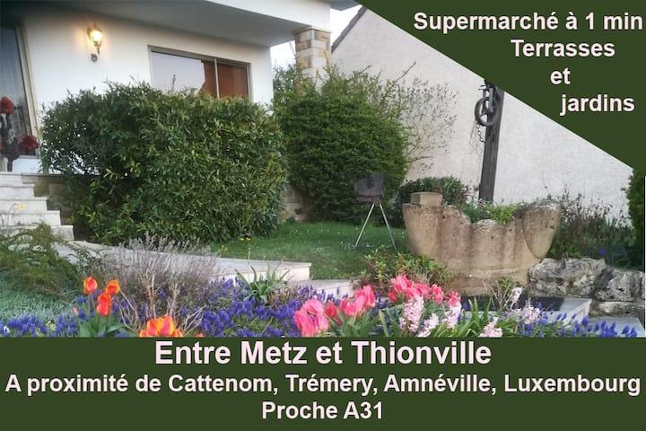 Maison entre Thionville (Luxembourg) et Metz