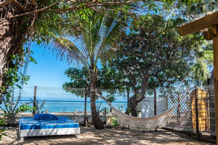 Villa de rêve  sur la plage du lagon de la Saline
