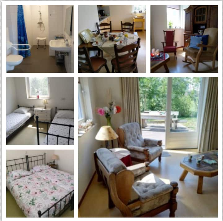 Leuk drempelloos 4-per. appartement in Reek N. Br.
