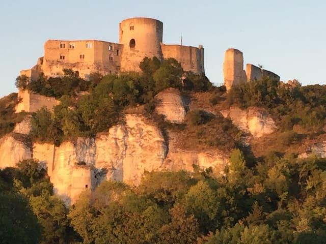 Le relais du chateau Gaillard