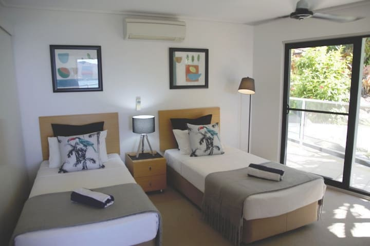Second bedroom with separate AC