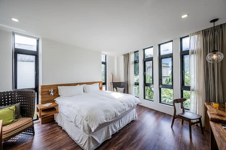 樂・隨逸館 La Suite 豪華雙人房202 (提供包棟及加床服務)