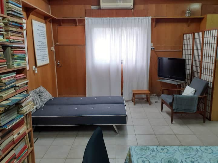 Garden Studio Near Sheba and Bar Ilan סטודיו בגינה