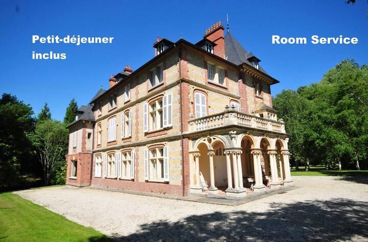 Château à 8 min Cabourg - Chambre 1