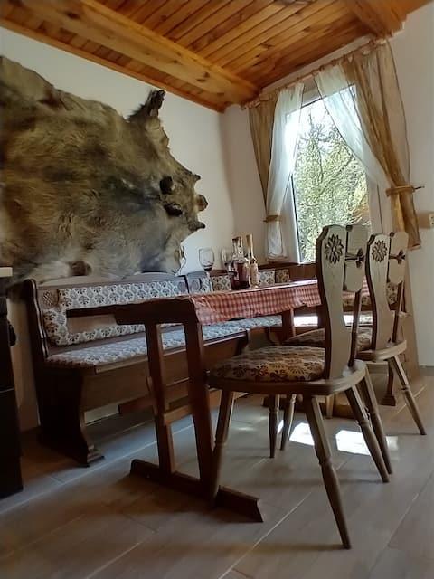 Wigierska Cottage Cabaña entera (precio para 1-3 personas)