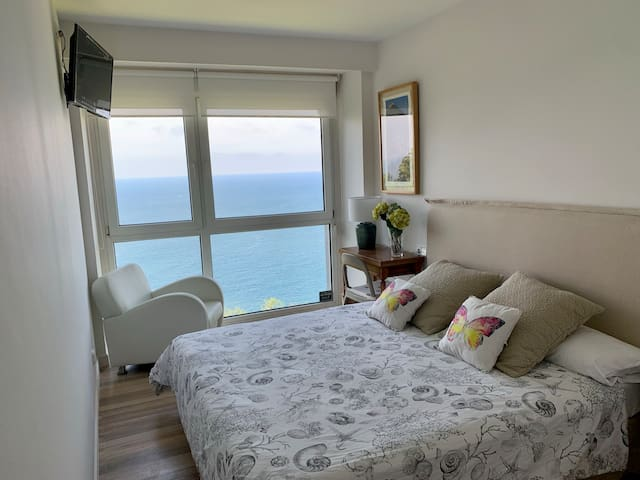 Bedroom with Fantastic Views.