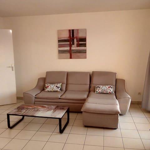 Appartement calme et pratique