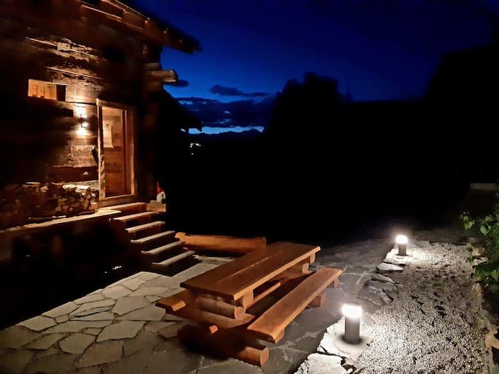 """Raccard """"Le pti' Roc"""" avec Sauna - Val d'Anniviers"""