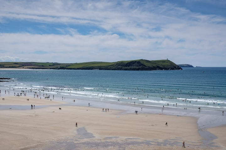 Polzeath Beach is waiting to welcome you!