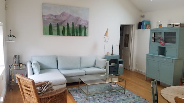 Maison-appartement de charme en fond de cour