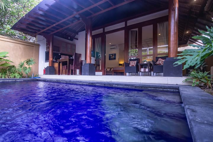 Tropical Romantic 1BR Umalas Villa