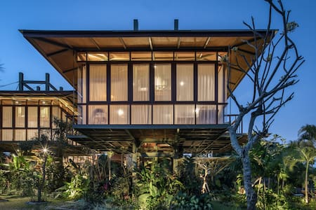 Treehouse by Stilt Studios - Great Rice Field View