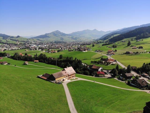 Zimmer mit Aussicht in Appenzell