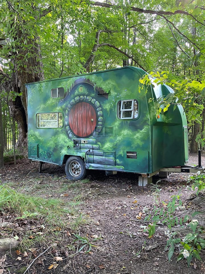 The Hobbit Camper at The Heron