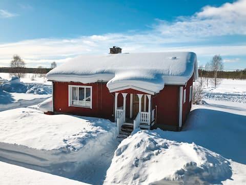 Holiday home in Lapland North Sweden Västerbotten