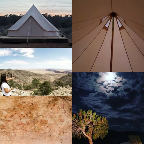 Rustic Glamping #2- 15 mins to Grand Canyon