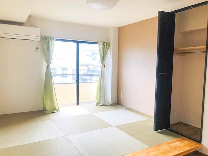 匯家・北池袋 Tatami style private bathroom 303