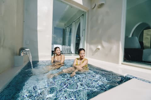 【Crete -Type C room】open-air-bath
