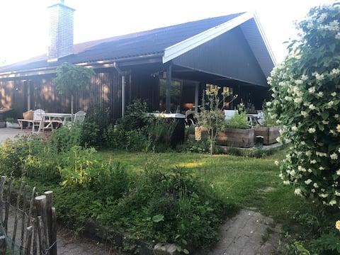 Gran casa de campo con precioso jardín