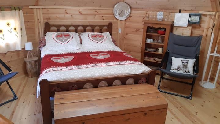 CHALET+sauna Privé  insolite-PetitDej