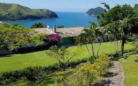 Chalé VistaMar Praia de TToque Gde-São Sebastião
