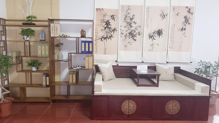 汉服游古城·青州古城旁特色民宿中式房间