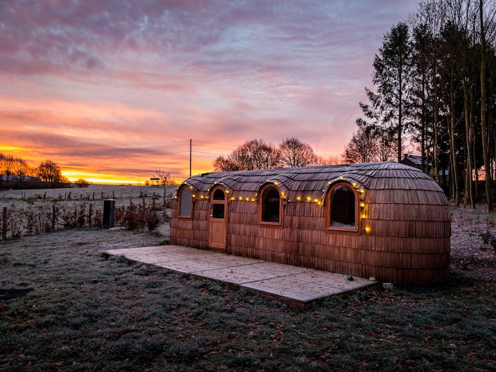 Cocons d'Ardenne - Luxurious Glamping  with sauna