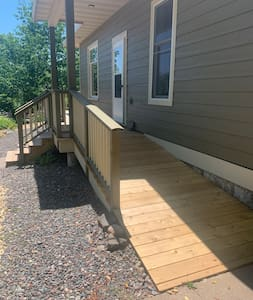 Accessible ramp to front door