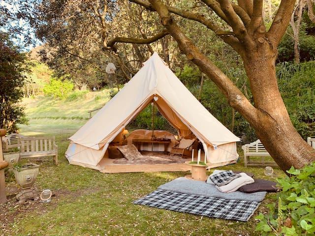 Slumber Tent Beach Retreat, Sea Views, St Brelade