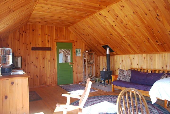 Chicken Barn Cabin with Sauna on Beautiful Farm