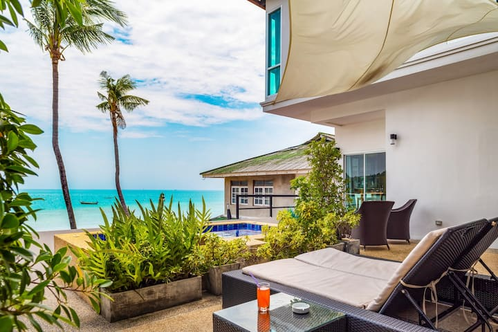 ☼Secluded Beach☼private  Jacuzzi-Friends & Family
