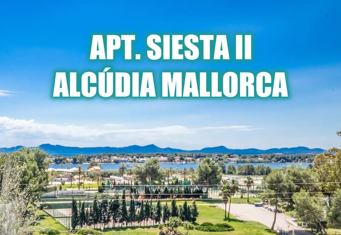 SIESTA II 513 for 4 with pool in Alcudia