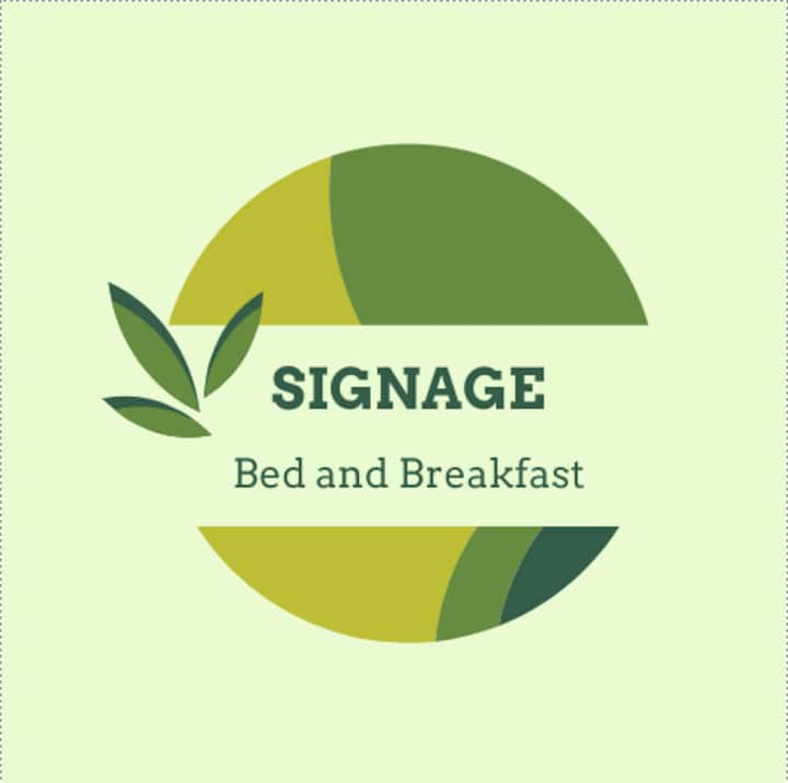 SIGNAGE - Bed and Breakfast