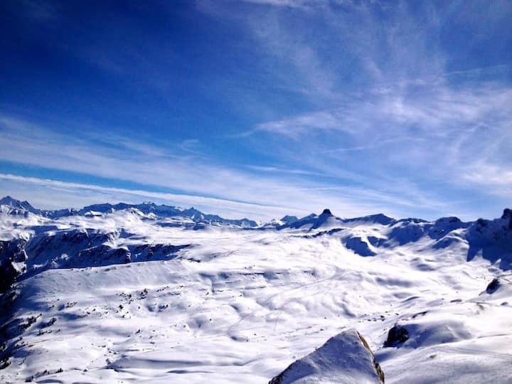 Ferienz. bei Skigebiet Heidiland: skien,wandern...