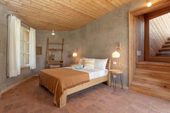 Casa Viva •stanza Torretta •Eco sleep & bio pool